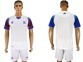 513f91ee625 Iceland 2018 World Cup Away White Soccer -TTE Trading Co.
